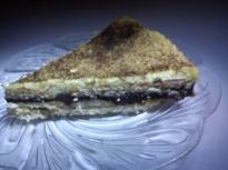 """Бисквитена торта с крем """"Брюле"""""""