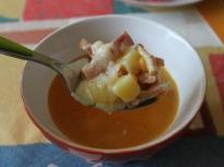 Супа от картофи и царевица