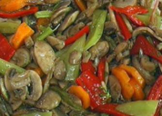 Маринована салата от гъби