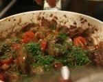 Дробчета с чери домати на тиган 6