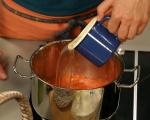 Супа от печени домати с крутони 3