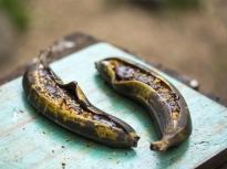 Пълнени банани на скара