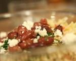 Салата с паста и печени домати 4