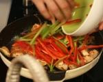Азиатска яхния с патладжани 10