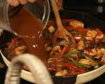 Азиатска яхния с патладжани 11