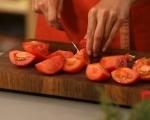 Обърнат доматен тарт