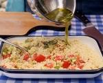 Лятна салата с кускус и сирене 8