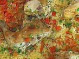 Пиле с ориз по мексикански