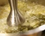 Магданозена супа с топчета 5