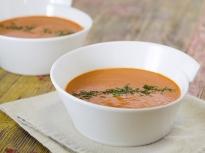 Супа от печени чушки