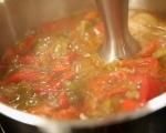 Супа от печени чушки 4
