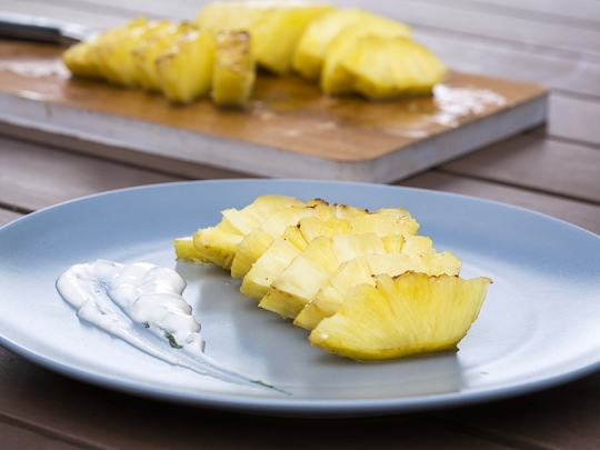 Глазиран ананас