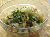 Зелено-оранжева салата