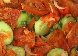 Италианска зеленчукова салата