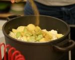 Крем супа от карфиол и броколи 3