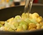 Крем супа от карфиол и броколи 4