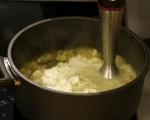 Крем супа от карфиол и броколи 5