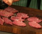 Свинско с гъби в сметаново-горчичен сос 2