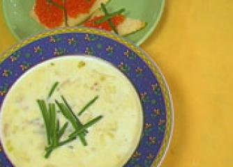 Датска супа от праз