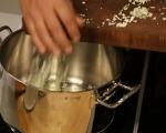 Бяла супа с пушена пъстърва