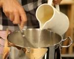 Бяла супа с пушена пъстърва 3