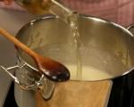 Бяла супа с пушена пъстърва 4
