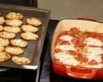 Яйца с домати на фурна 8