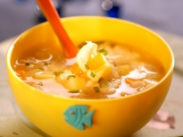 Рибена супа с ориз
