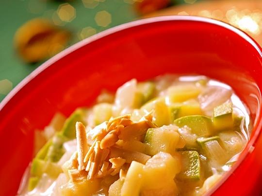 Супа от тиквички и картофи