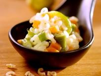 Макарони със зеленчуци