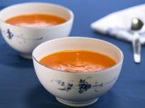 Супа от печени домати и чушки