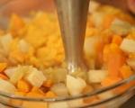 Пюре от целина, ябълки и моркови