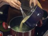 Крем супа от коприва с пъдпъдъчи яйца 3