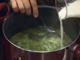 Крем супа от коприва с пъдпъдъчи яйца 4