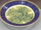 Крем супа от коприва с пъдпъдъчи яйца 6