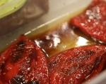 Разядка от чушки и чесън върху качамак  6