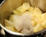 Ябълков пай с ванилов крем 5