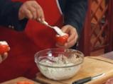 Пълнени домати с млечна салата 4
