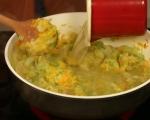 Пай с пилешко и топено сирене  8
