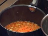 Спагети с шунка и кашкавал 2