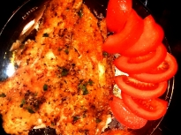 Рибно филе с хрупкава коричка