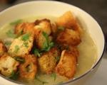 Картофена супа с праз и бекон 7