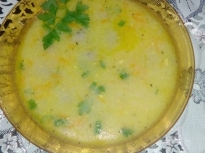 Ароматна супа топчета