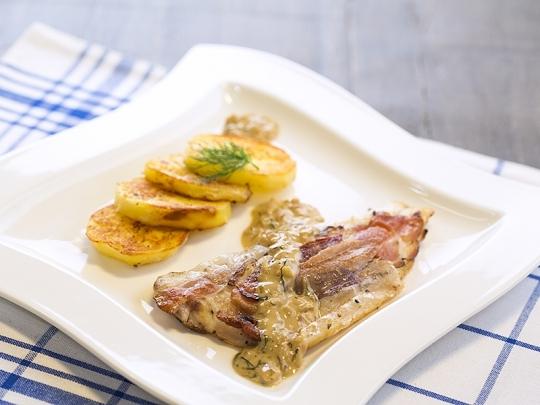 Риба в сос от марсала
