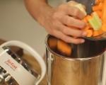 Крем супа от моркови с кокосово мляко