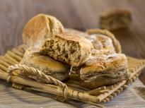 Ирландски хлебчета с мед и орехи