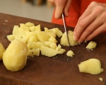 Шарена картофена салата 2