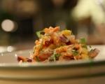 Шарена картофена салата 7