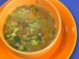 Зеленчукова супа с гъби