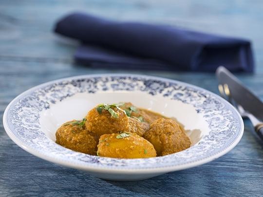 Индийска картофена яхния